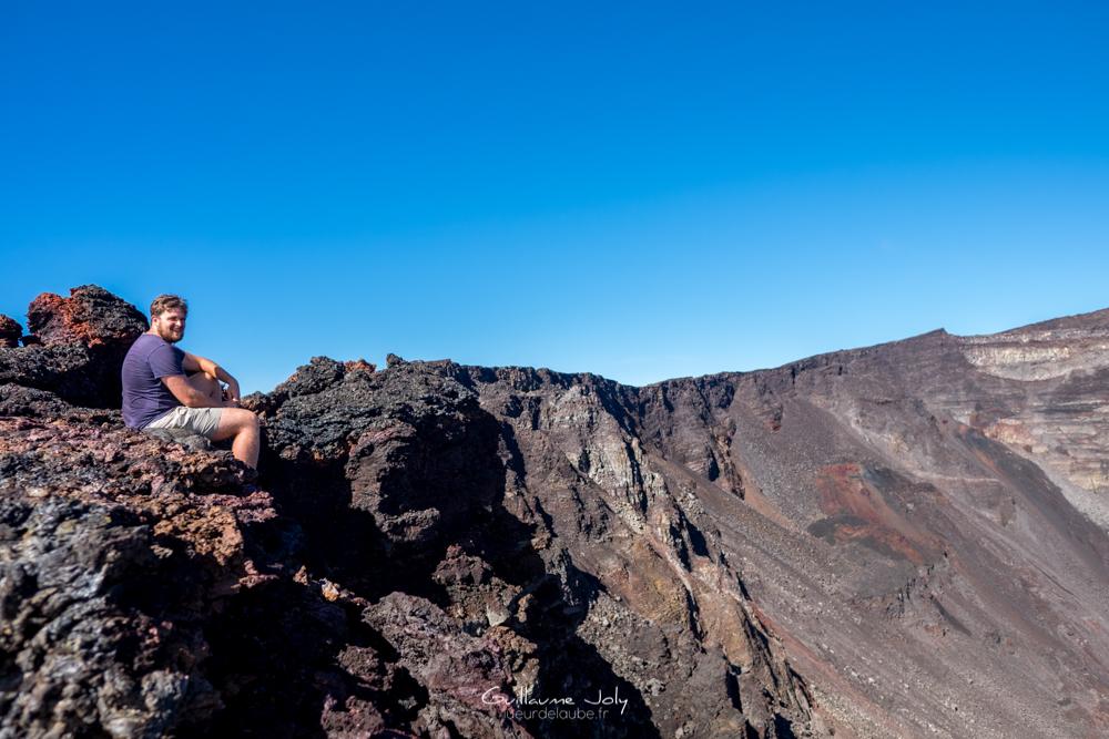 Lueur de l'Aube à l'Ile de la Réunion