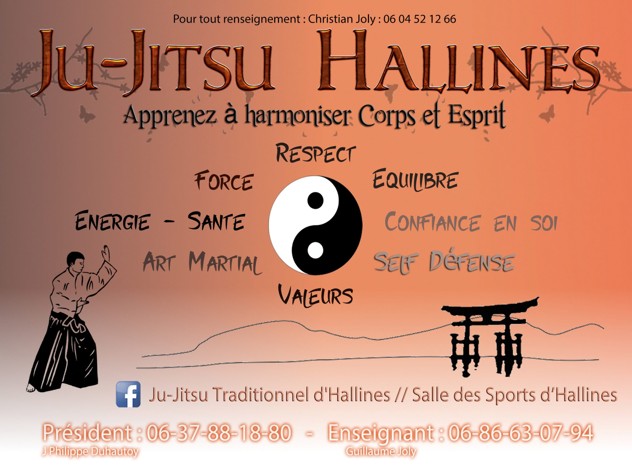 Ma deuxième passion : le Ju-Jitsu Traditionnel