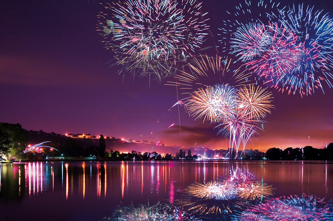 Tuto : Comment photographier les feux d'artifice ?